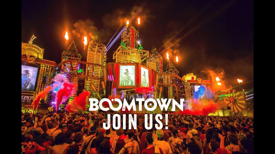 BoomTown fair release over 500 artists and 2016 trailer